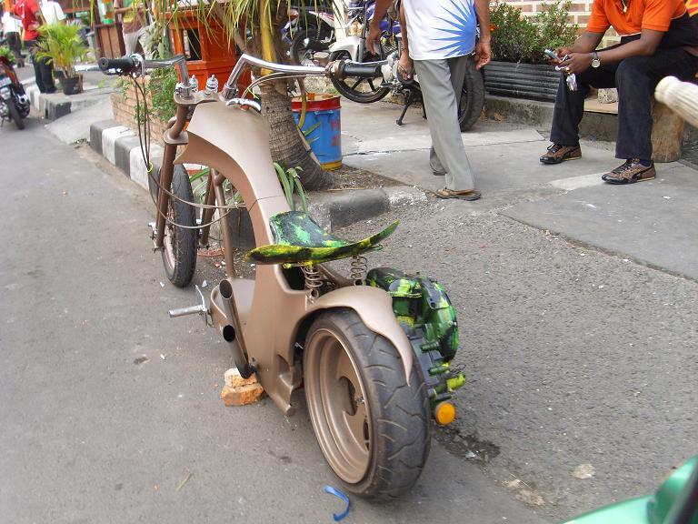 motor antik tapi not for sale..!!!