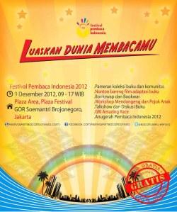 Festival Pembaca Indonesia 2012